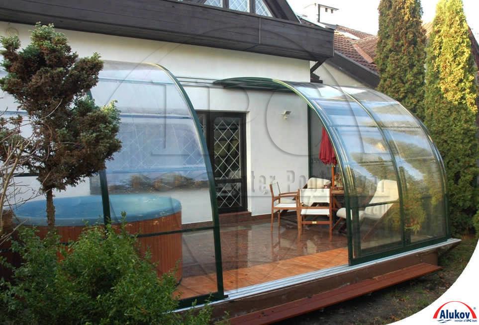 Пристроенная к дому веранда из поликарбоната: особенности во.